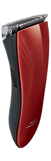 The stylish maroon Philips Norelco QT4022 Stubble Trimmer - Best Stubble trimmer 2015